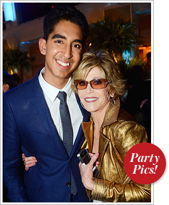 Jane Fonda, Dev Patel