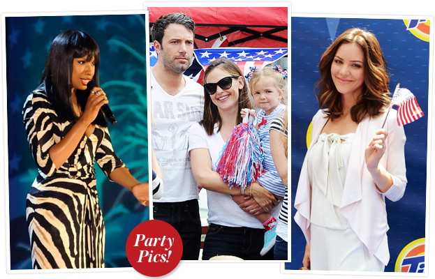 Jennifer Hudson, Fourth of July, Jennifer Garner