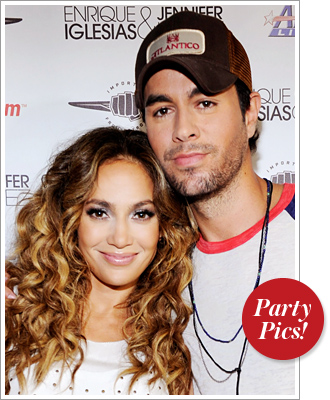 Jennifer Lopez and Enrique