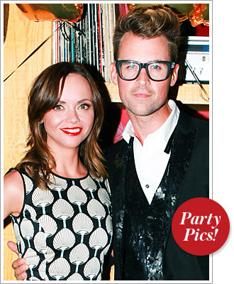 Brad Goreski and Christina Ricci