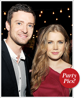 Justin Timberlake and Amy Adams