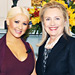 Christina Aguilera and Hillary Clinton Fight Hunger Together and More