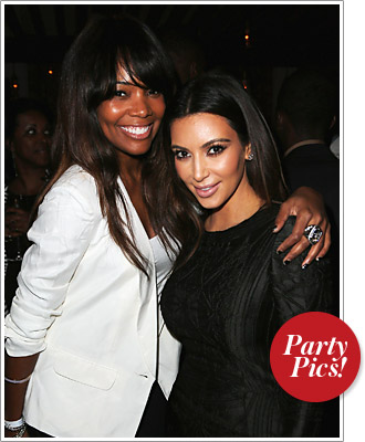 Gabrielle Union and Kim Kardashian