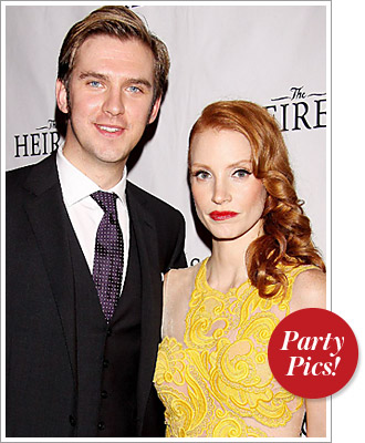 Jessica Chastain Dan Stevens