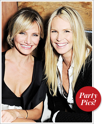 Cameron Diaz Elle MacPherson