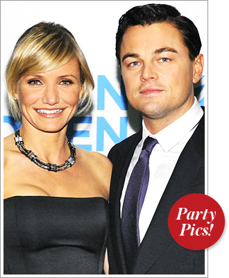 Cameron Diaz Leonardo DiCaprio