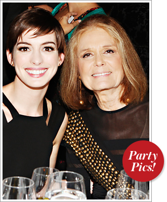 Anne Hathaway Gloria Steinem
