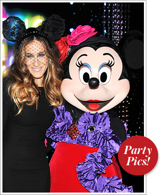 Sarah Jessica Parker Minnie Mouse