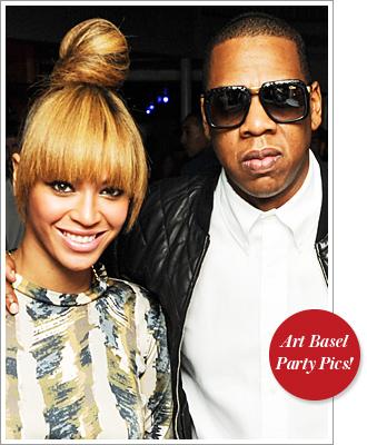 Beyonce Jay-Z Art Basel