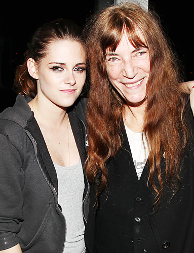 Kristen Stewart Patti Smith