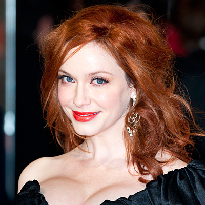 Christina Hendricks - Transformation - Hair - Celebrity Before and After