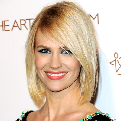January Jones - Transformation - Hair - Celebrity Before and After