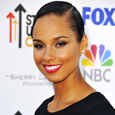 Alicia Keys - Transformation - Hair - Celebrity Before and After