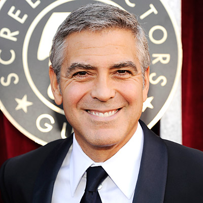 George Clooney - Transformation - Hair - Celebrity Before and After