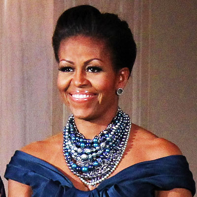Michelle Obama - 2012 - Michelle Obama - Transformation - Hair