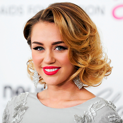 Miley Cyrus - Transformation - Hair - Celebrity Before and After