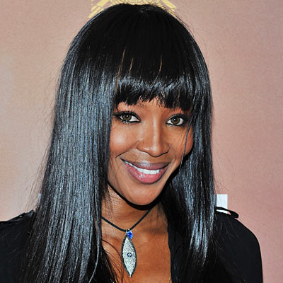 Naomi Campbell - Transformation - Hair - Celebrity Before and After