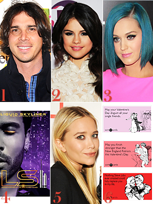 The Bachelor, Selena Gomez, Katy Perry