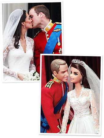 Prince William, Kate Middleton, Barbie
