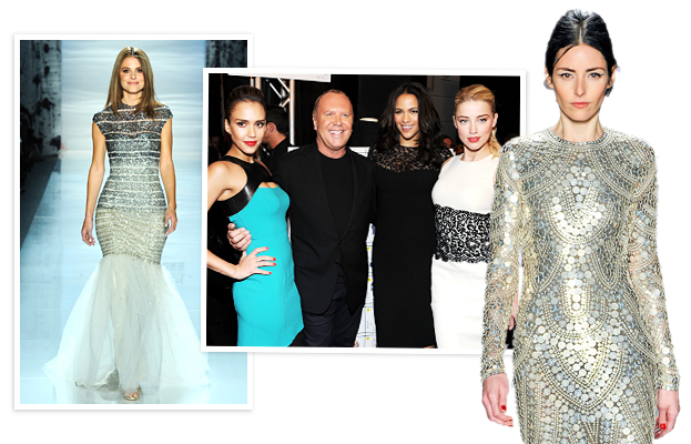 Pamella Roland, Maria Menounos, Jessica Alba, Michael Kors, Paula Patton, Amber Heard, Naeem Khan