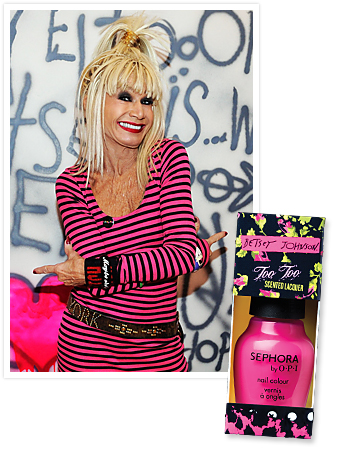 Betsey Johnson for OPI