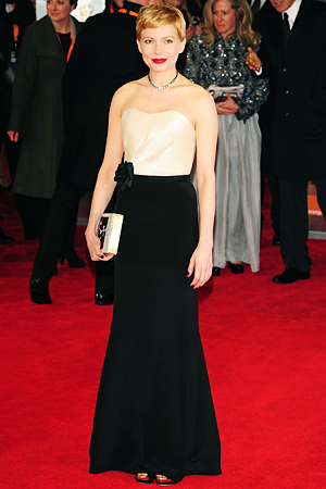 Michelle Williams, BAFTA Awards, H&amp;M
