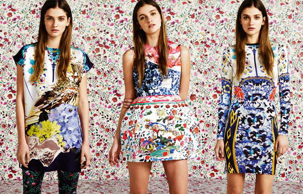 Mary Katrantzou for Tophop