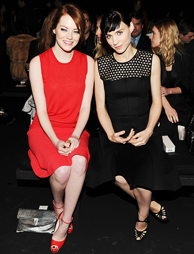 Calvin Klein, Rooney Mara, Emma Stone