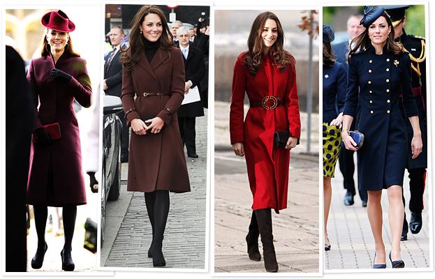 Kate Middleton, Coats