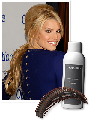 Hair, Jessica Simpson, Ponytail