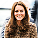 Kate Middleton&#039;s Brown Boots and Bird Print Dress