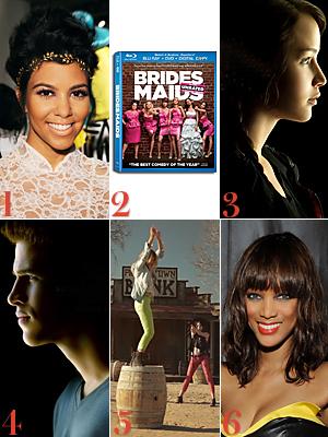 Kourtney Kardashian, Bridesmaids, Hunger Games