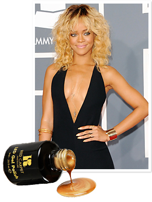 Rihanna - Grammys - Rihanna Manicure