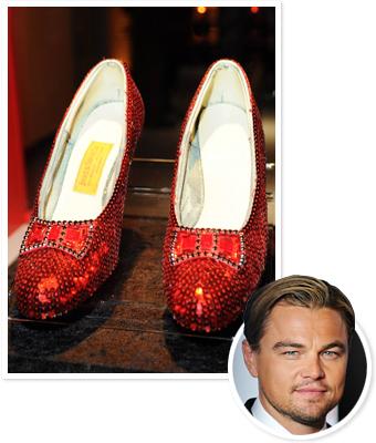 Leonardo DiCaprio, ruby slippers