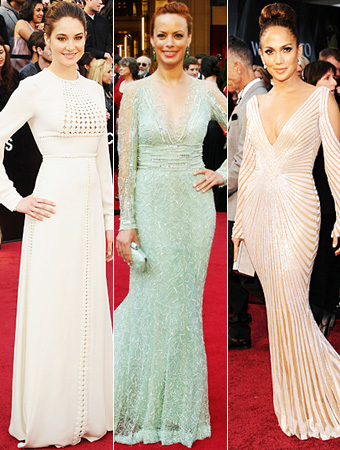 Shailene Woodley, Berenice Bejo, Jennifer Lopez