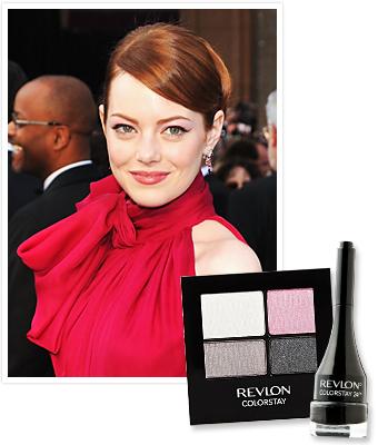 Emma Stone - Oscars Makeup