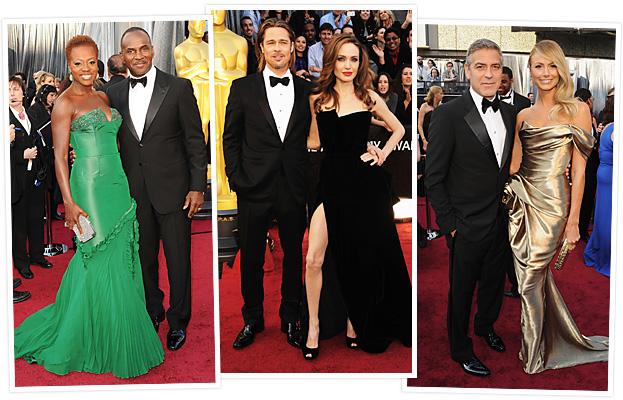 Viola Davis, Brad Pitt, Angelina Jolie, George Clooney, Stacy Keibler
