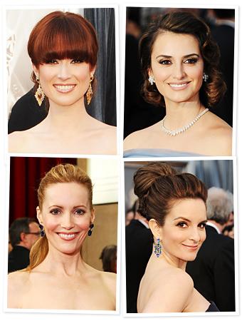 Oscars 2012 - Hairstyles