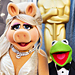 Oscars 2012: Miss Piggy in Zac Posen; Kermit in Brooks Brothers