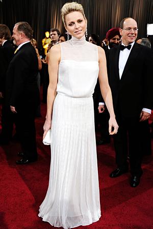 Charlene Wittstock, Oscars 2012