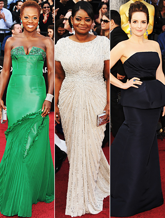 Oscars 2012 Red carpet photos