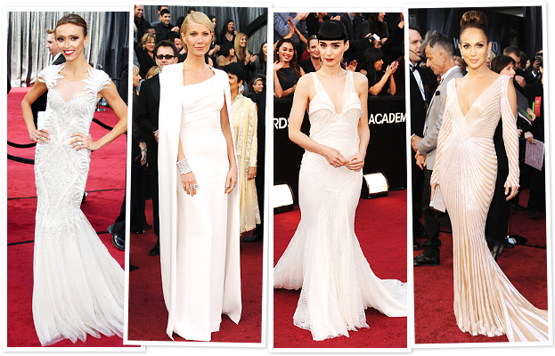 Giuliana Rancic, Gwyneth Paltrow, Rooney Mara, Jennifer Lopez