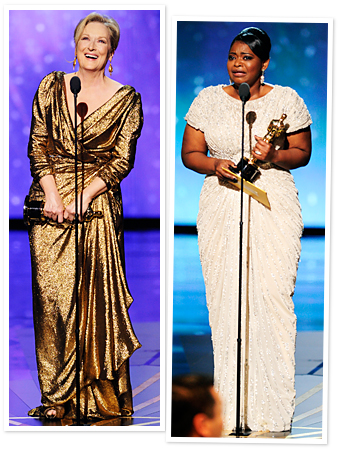 Meryl Streep, Octavia Spencer, Oscars 2012