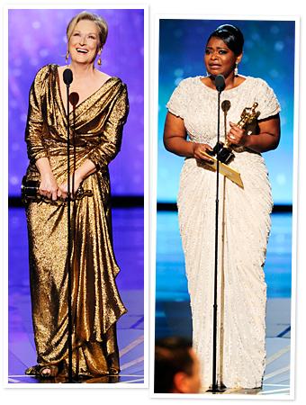Meryl Streep, Octavia Spencer, Oscars 2012