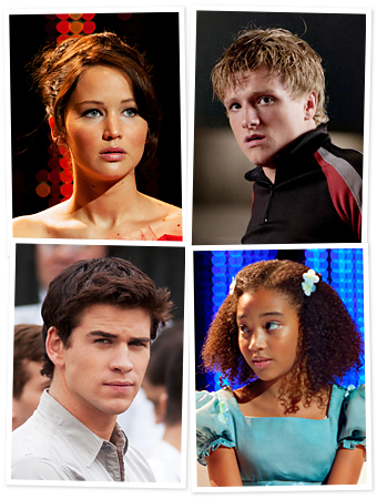 The Hunger Games characters