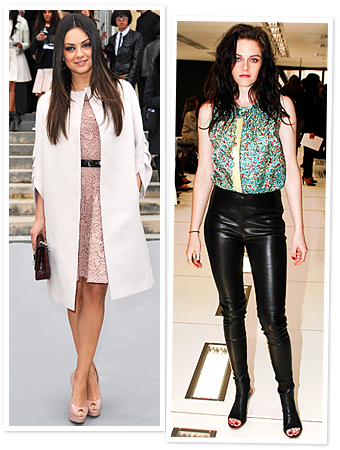 Paris Fashion Week, Mila Kunis, Kristen Stewart