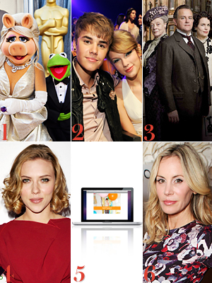 Muppets, Taylor Swift, Justin Bieber