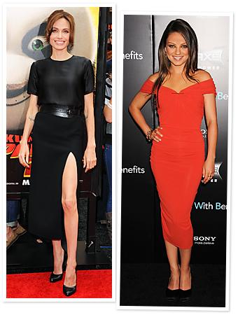 Angeline Jolie, Mila Kunis