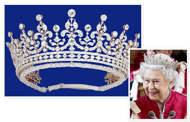 Queen Elizabeth, Girls of Great Britain tiara