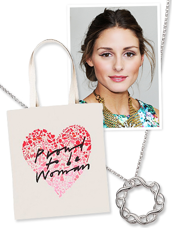 International Women's Day, Reese Witherspoon, Avon, Diane von Furstenberg, Olivia Palermo